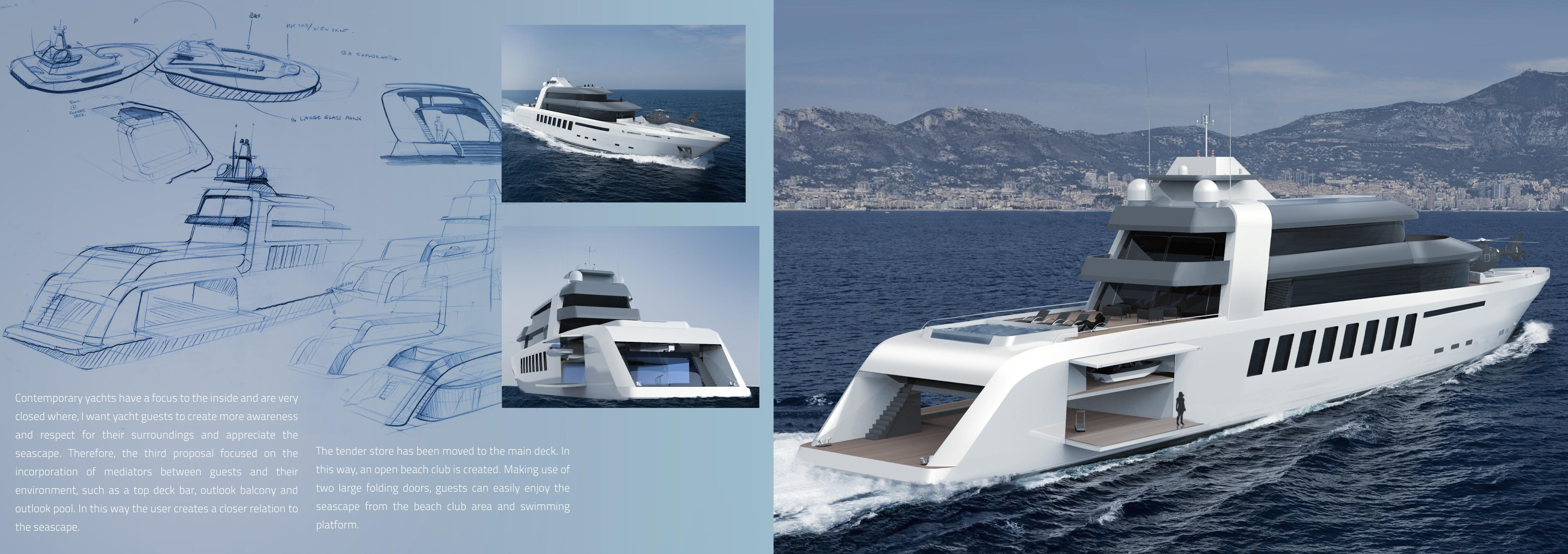 Super Yacht Exterior Design For AMELS Holland B.V.