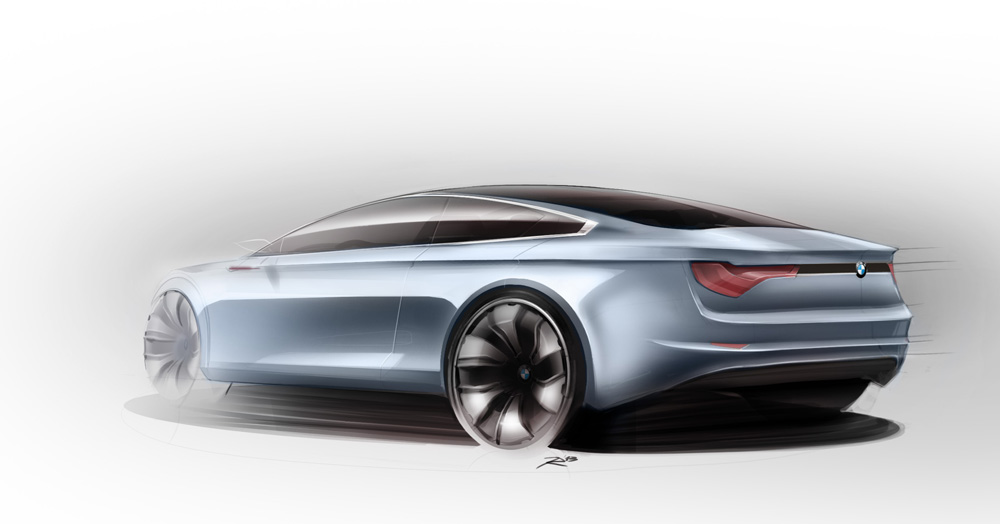 BMW Sketch Joost Roes