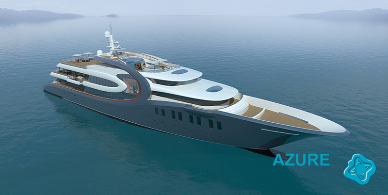 Concept Design Yacht Dylana 88m